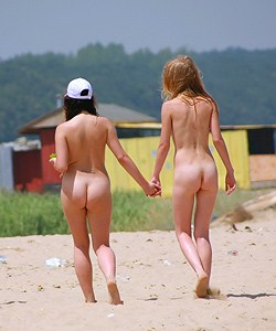 Cute nudist girls
