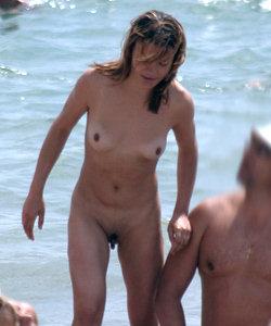 Candid nudists life