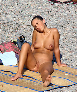 Perfect chicks on nude beach
