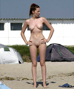 Babes on nude beaches