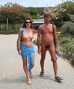 Perfect nudists couples