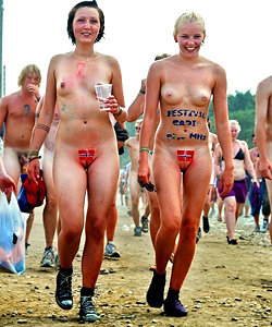 Nudist festival in london