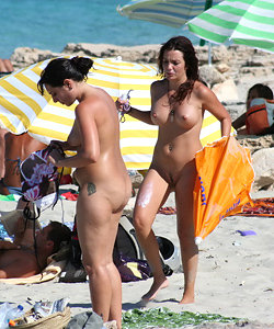 Lovely nude beach