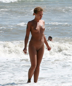 Exciting nudist life